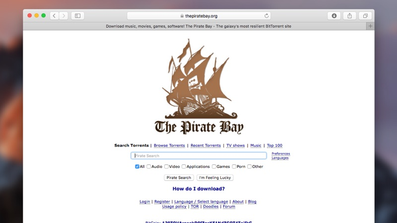 Proxy Pirate Bay