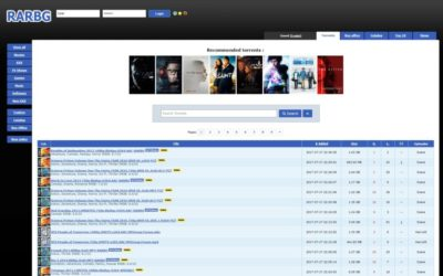 RARBG Proxy : liste des sites proxies et mirror de ce site de torrent