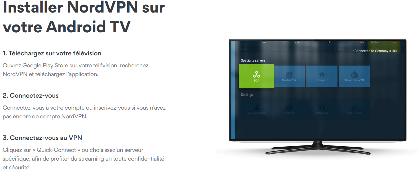 Nordvpn android tv box