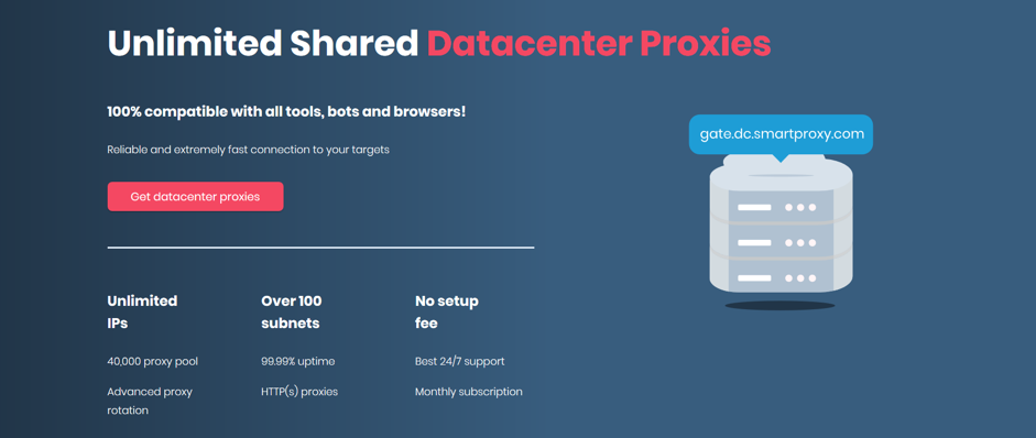 smartproxy data center
